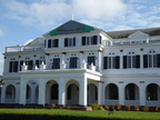 Paramaribo, Government House (now Presidential Palace)