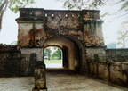 Fort Canning Green Cemetery, Singapore, Gate