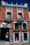 Puebla, House on Calle 7 Oriente