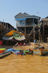 Khmer Waterside Houses, Tonlé Sap Lake